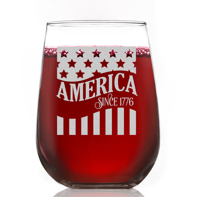 Wine Glass - America Since 1776