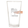 .50 Cal Bullet Pint Glass - I Voted