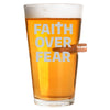 .50 Cal Bullet Pint Glass - Faith over Fear