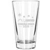 Pint Glass - I Survived Coronavirus 2020