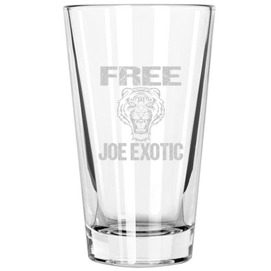 Pint Glass - Free Joe Exotic