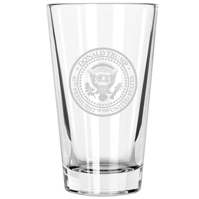 Pint Glass - Trump Presidential Seal