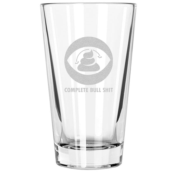 Pint Glass - CBS - Complete Bull Shit