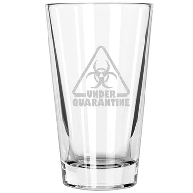 Pint Glass - Under Quarantine