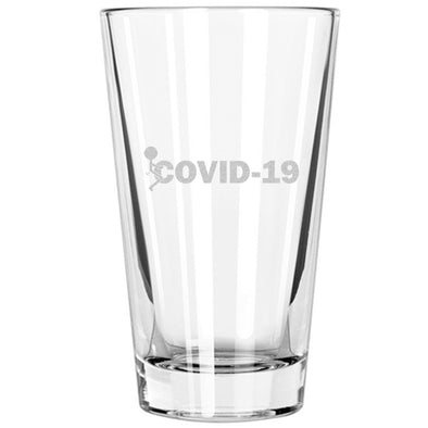Pint Glass - Fuck COVID-19