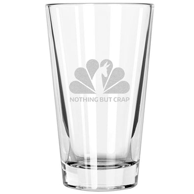 Pint Glass - NBC - Nothing But Crap