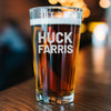 Pint Glass - Huck Farris