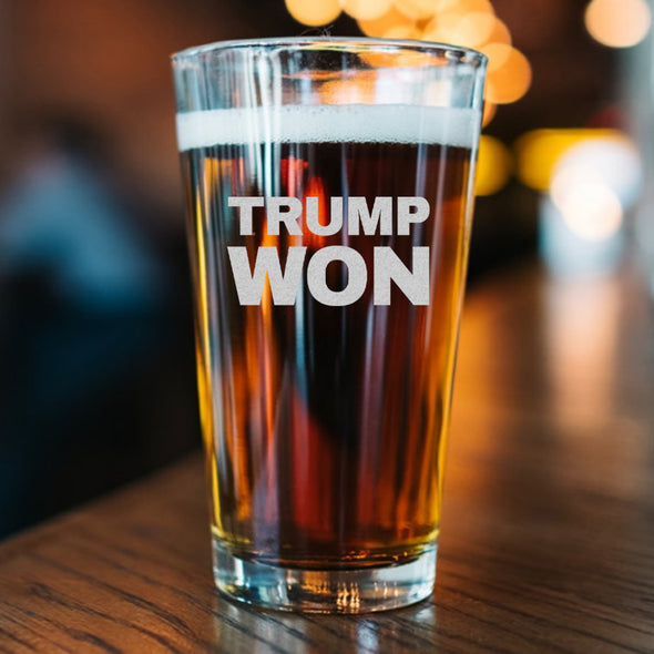 Pint Glass - Trump Won