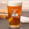 Pint Glass - The Best Dad Maybe Ever