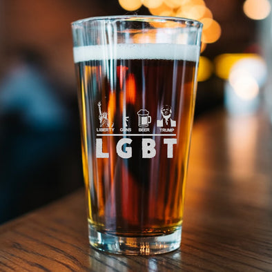 Pint Glass - LGBT