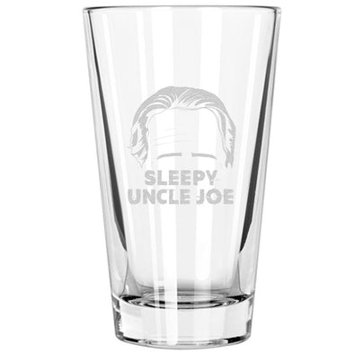Pint Glass - Sleepy Uncle Joe