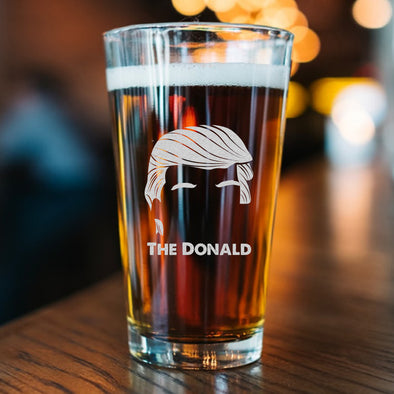 Pint Glass - The Donald