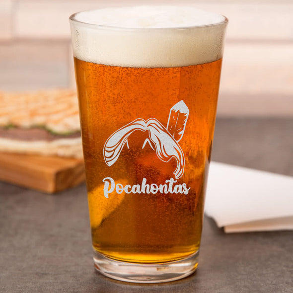 Pint Glass - Pocahontas