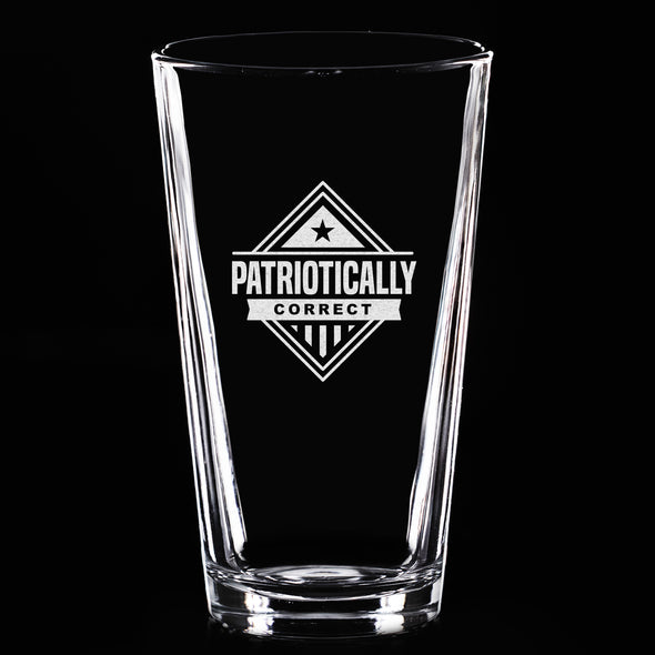Pint Glass - Patriotically Correct