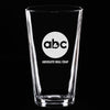 Pint Glass - ABC- Absolute Bull Crap