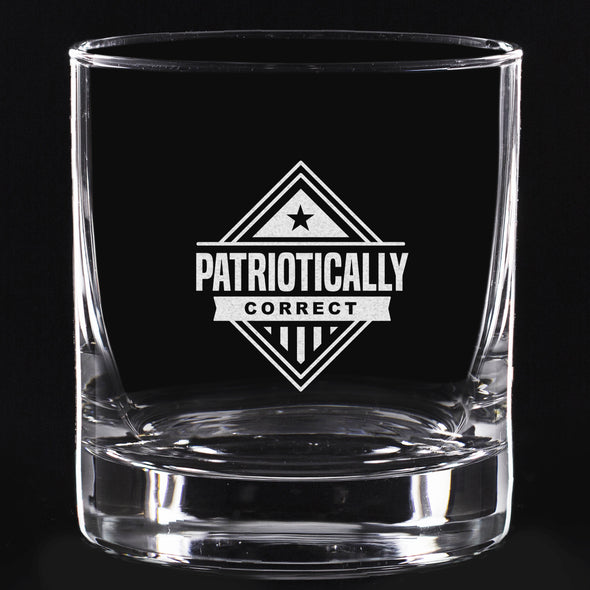 Whiskey Glass - Patriotically Correct