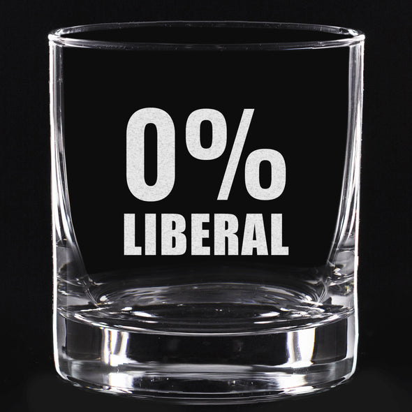 Whiskey Glass - 0% Liberal