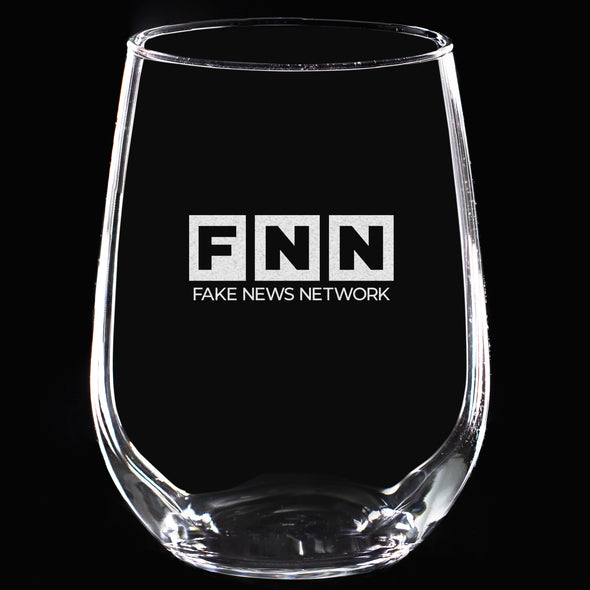 Wine Glass - FNN - Fake News Network uppercase