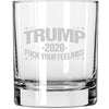 Whiskey Glass - Trump 2020 - Fuck Your Feelings