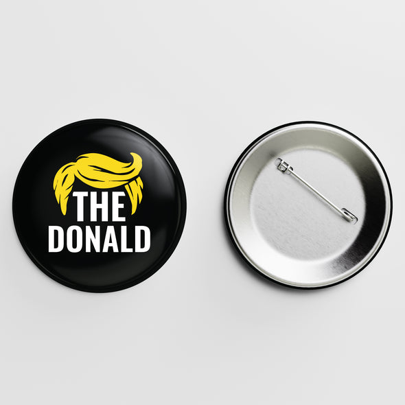 The Donald Hairline Button