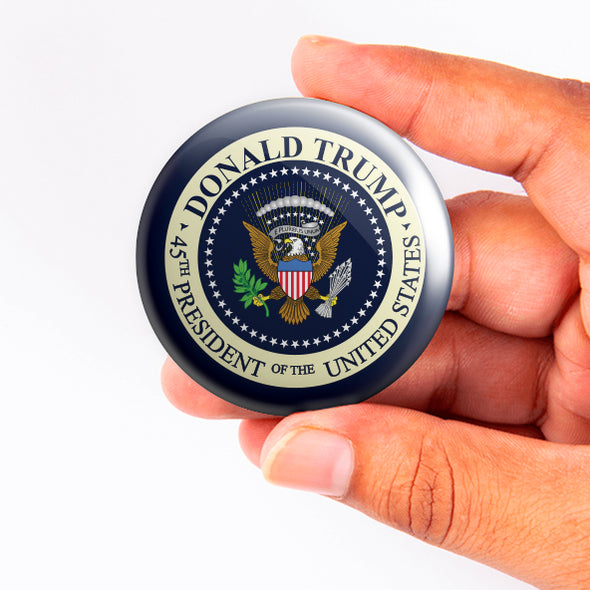 Trump Presidential Seal Button