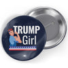 Trump Girl Button