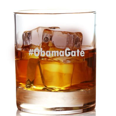 Whiskey Glass - #ObamaGate
