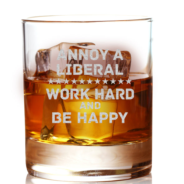 Whiskey Glass - Annoy A Liberal