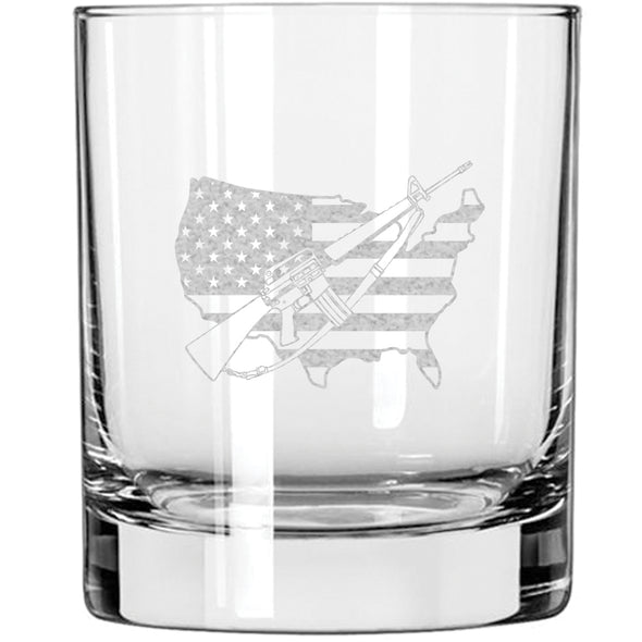 Whiskey Glass - Gun America