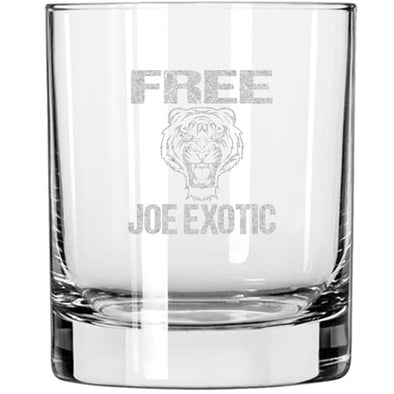 Whiskey Glass - Free Joe Exotic