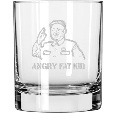 Whiskey Glass - Angry Fat Kid