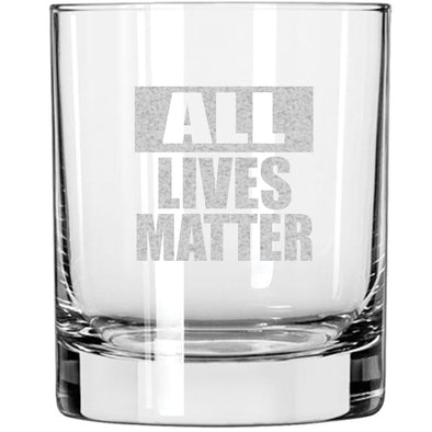 Whiskey Glass - All Lives Matter
