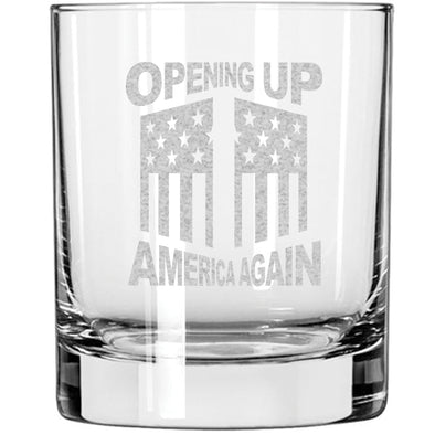 Whiskey Glass - Opening Up America Again