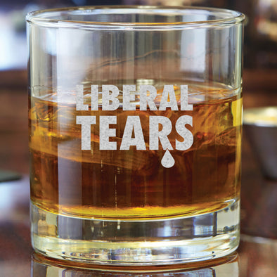 Whiskey Glass - Liberal Tears