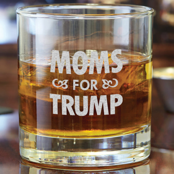 Whiskey Glass - Moms For Trump