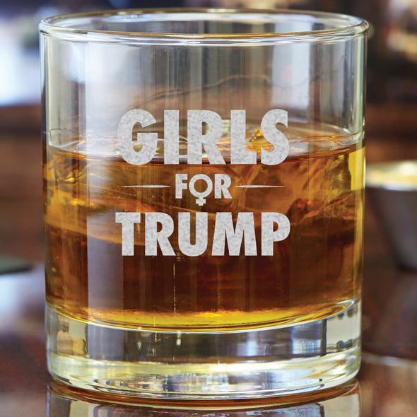Whiskey Glass - Girls For Trump
