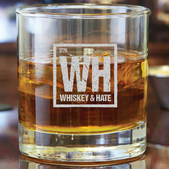 Whiskey Glass - Whiskey & Hate