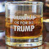 Whiskey Glass - Grandmas For Trump