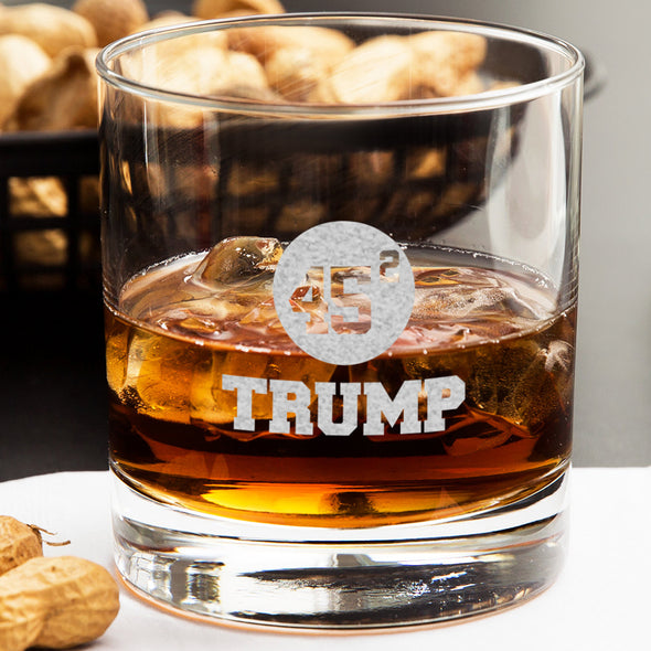 Whiskey Glass - 45 Squared Trump
