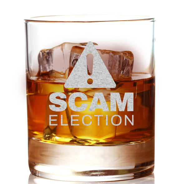 Whiskey Glass - Scam Election
