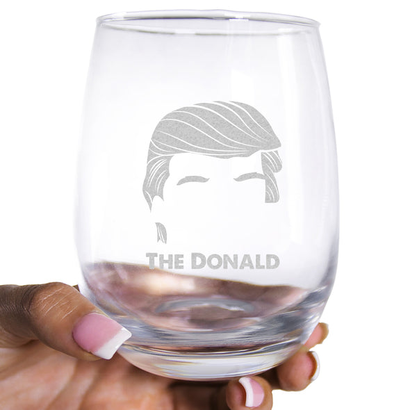 Wine Glass - The Donald