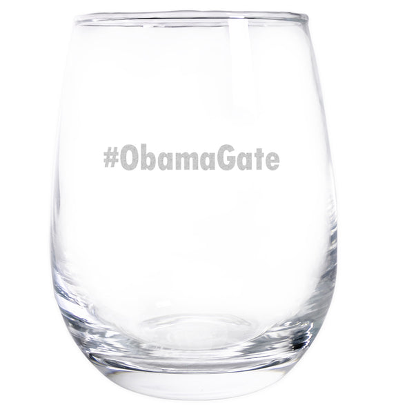 Wine Glass - #ObamaGate