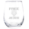 Wine Glass - Free Joe Exotic