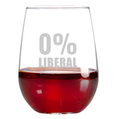 Wine Glass - 0% Liberal