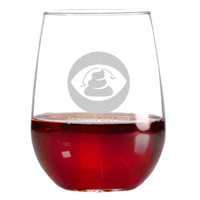 Wine Glass - CBS - Complete Bull Shit