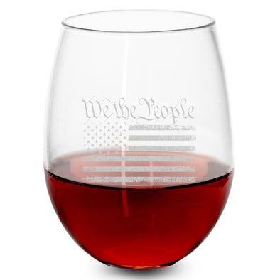 Wine Glass - We The People