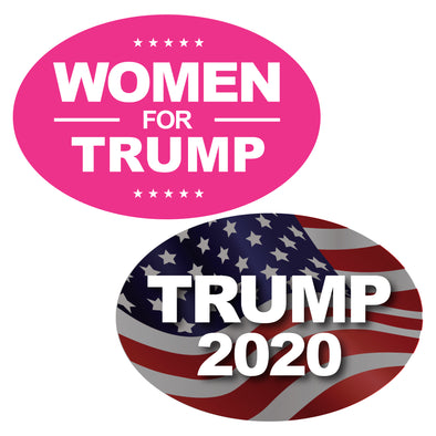 Trump 2020, Women For Trump Magnet Bundle