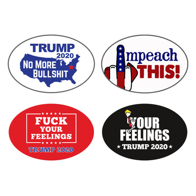 Fuck Your Feelings 4 Pack Magnet Bundle