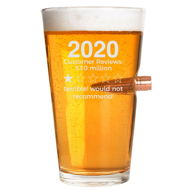 .50 Cal Bullet Pint Glass -2020 Review