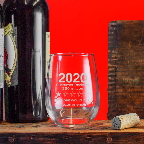 2020 Review - Wine Glass